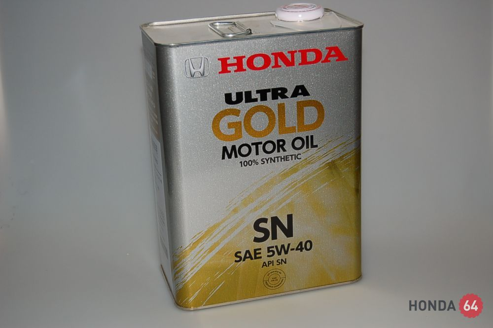 Масло моторное HONDA Ultra GOLD –SM 5W-40 Japan, 4L