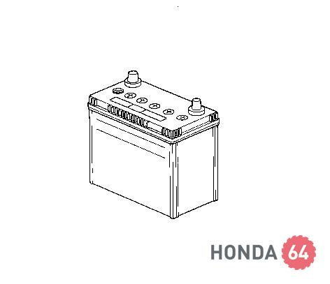 Аккумулятор Honda Accord7/  Civic 4D/5D (31500-ST3-111HE)