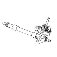 рулевая рейка honda civic 53601-snb-p08