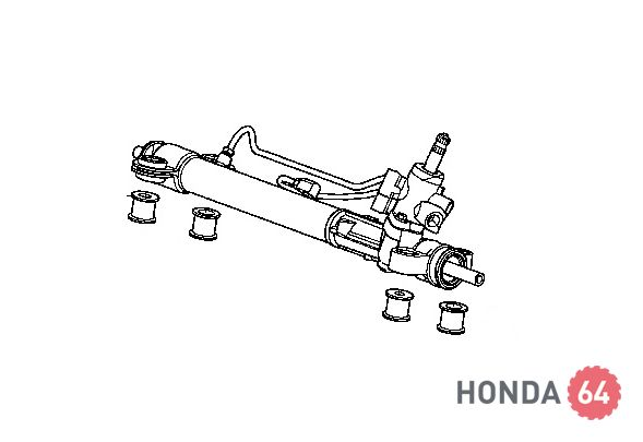 Рейка рулевая Honda CR-V 2,4L (53601-SWA-A01)